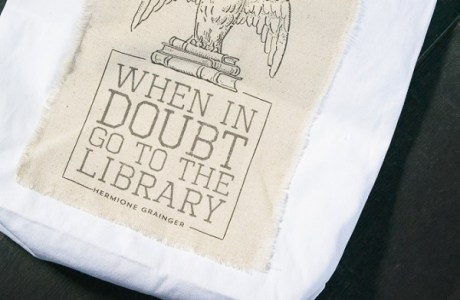 Tutorial: Harry Potter-inspired library bag