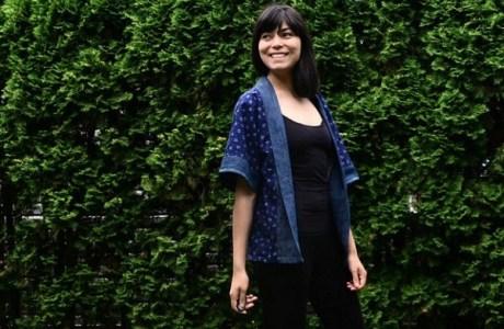 Free pattern: Banded kimono jacket