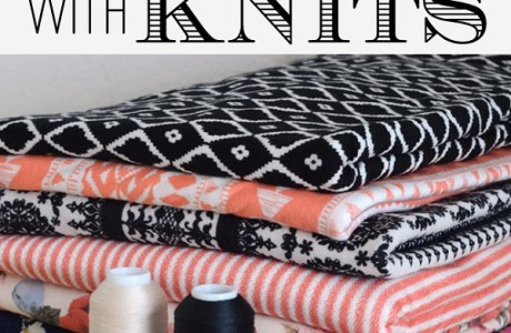 Get started sewing on knit fabrics