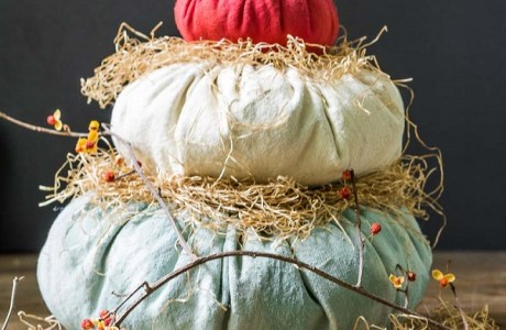 Tutorial: Heirloom Cinderella fabric pumpkins