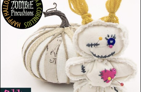 Free pattern: Zombie pincushion