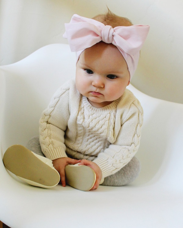 Tutorial: Oversized bow headband for baby