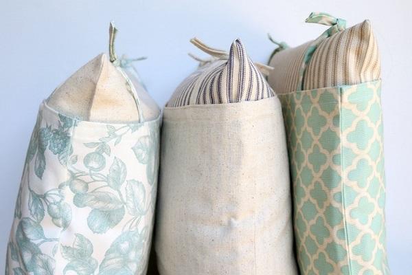 Tutorial: Farmhouse style pillows
