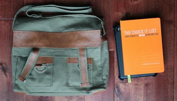 Tutorial: Messenger bag for a guy