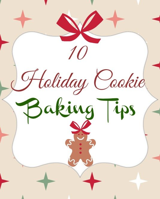 10 Holiday Cookie Baking Tips Spiced Apple Cider Sugar Cookies