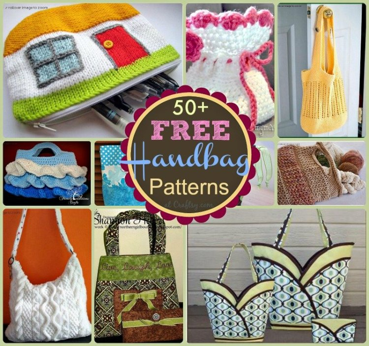 50 Free Handbag Patterns at sewlicioushomedecor.com  51 Free Handbag and Purse Patterns and Tutorials