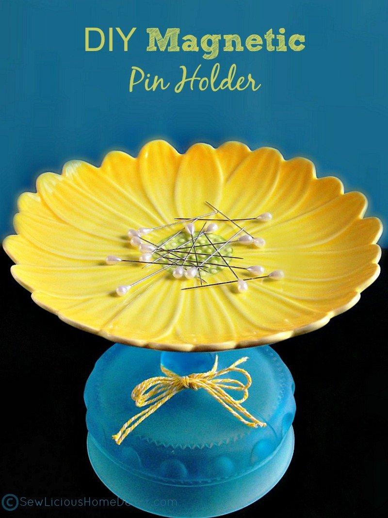 DIY Magnetic Pin Holder