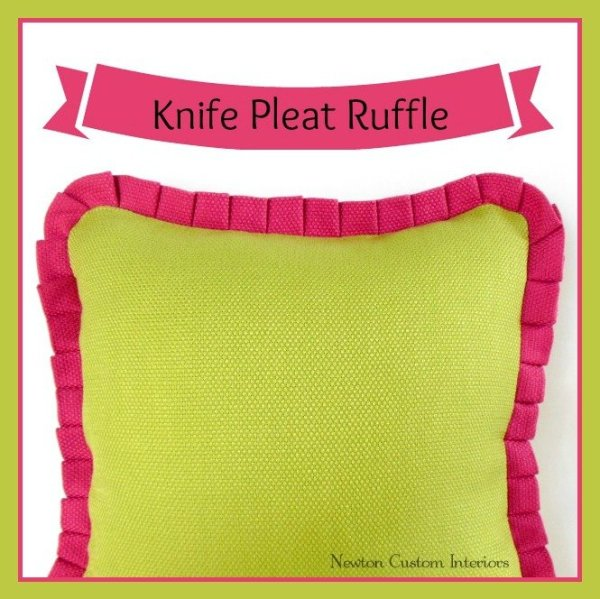 knife pleat ruffle1 Fun Craft Projects To Make This Weekend