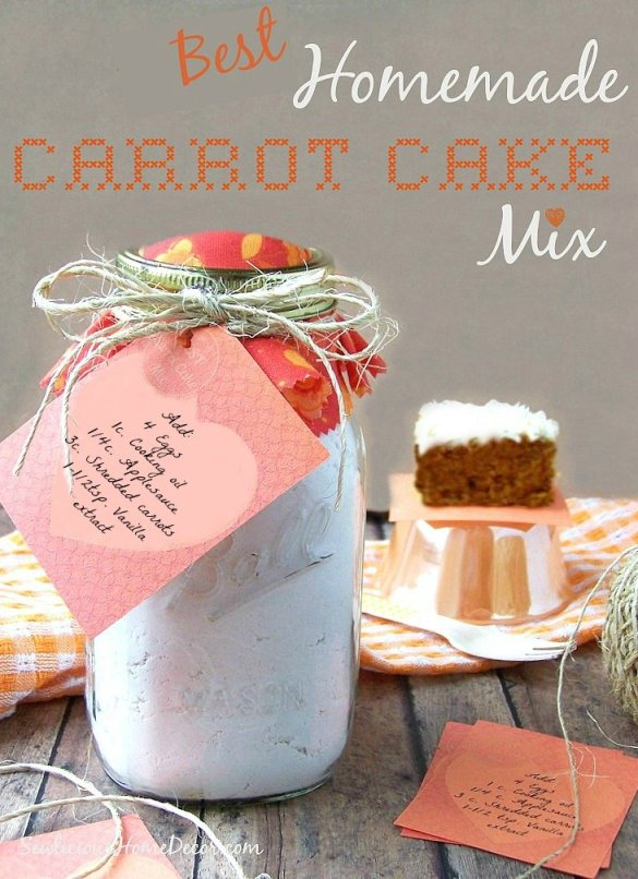 Best Homemade Carrot Cake Mix Best Homemade Brownie Mix Recipe