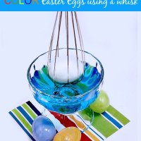 Color Easter Eggs With A Whisk