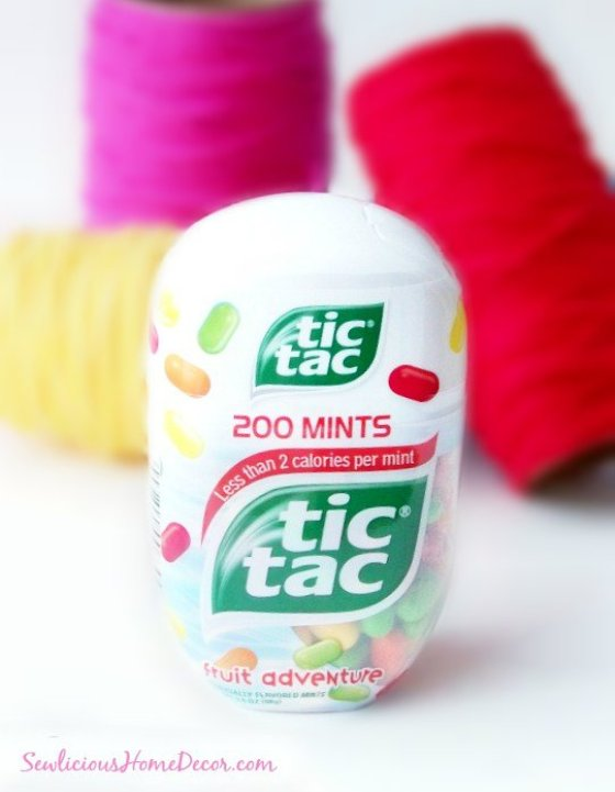 atictac yarn container Sew Organized Recycled Tic Tac Containers to Yarn Containers