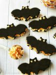 Bat Black Velvet Oreo Cream Cookie