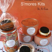 Mail A Halloween Oreo Smores In A Can Kits with Free Printables