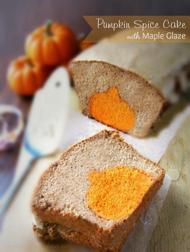 Maple Glaze Pumpkin Cake