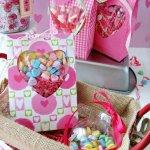 How To Make Valentine Heart Window Treat Bags