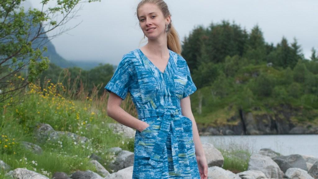 Sew Mariefleur Tea House Dress SewHouse 7