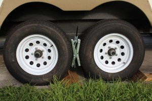 Locking Wheel Chocks, Camping Safety