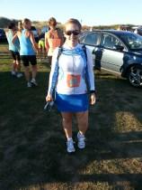 2012 Surftown Half Marathon - Jalie running skirt