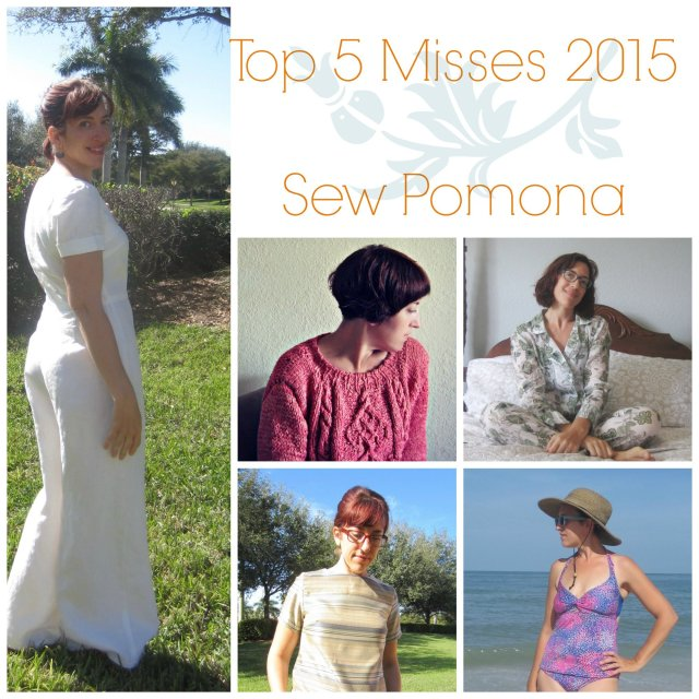 Top 5 Misses 2015, Sew Pomona
