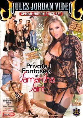 Private Fantasies Samantha Saint DVD Jules Jordan Productions Special Edition 2 Disc Set
