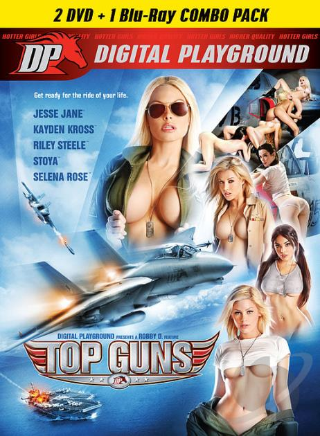 Fly hard with deep throttle action as Jesse Jane and Riley Steele show the men the true definition of hardcore power. They are the new top guns, the two best female fighter pilots the Air Force has to offer going up against their arch rivals, Kayden Kross and Stoya, the unbeatable bitches from the Navy. It's lust-fueled girls going up against the hardest fly boys in the military to prove they've got more thrust in their game and more devious tactics than any enemy riding their tail.