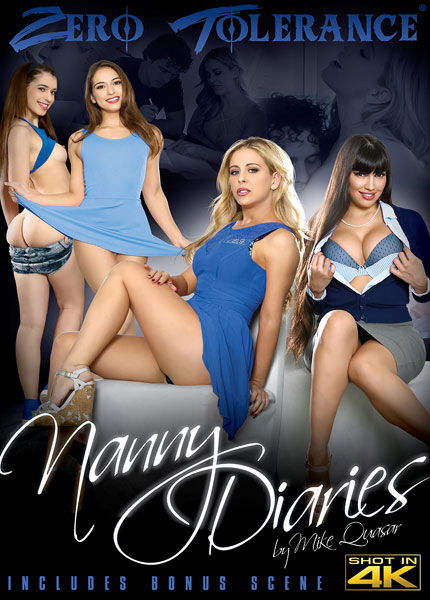 Nanny Diaries, 2017 Porn DVD, Zero Tolerance Ent., Mike Quasar, Joseline Kelly, Cherie Deville, Mercedes Carrera, Sara Luvv, Robby Echo, Mark Wood, Small Hands, Tommy Gunn, All Sex, Babysitter