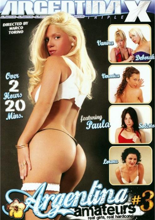 Argentina Amateurs 3 XXX DVD