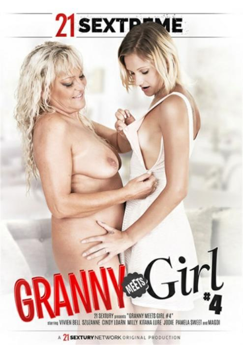 Granny Meets Girl 4 XXX DVD from 21 Sextury Video (Pulse)