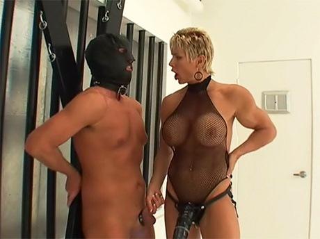 lesbian strapon missionary
