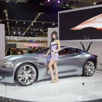 Hwang Mi Hee Seoul Motor Show 2011 (2)