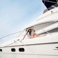 Kim Ha Yul Goes Sailing