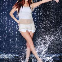 Lee Ji Min In The Rain