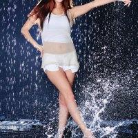 Lee Ji Min In The Rain