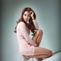 Park Hyun Sun Pink Mini Dress