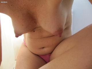 my wife nude in public