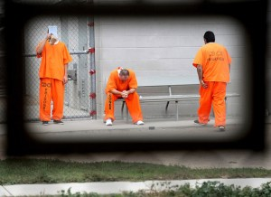 Cali prisoners wait for appts mental health clinic by Noah Berger, Bloomberg
