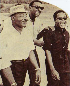 Martin Luther King, Stokely Carmichael, Willie 'Mukasa' Ricks