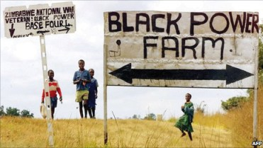 Zimbabwe 'Black Power Farm' by AFP