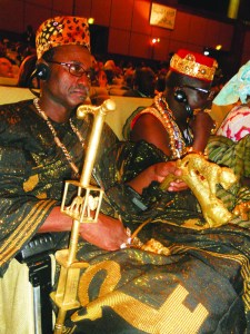 King of Burkina Faso at Tripoli Libya conf 0111 by JR, web