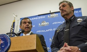 Mayor of LA and LAPD chief