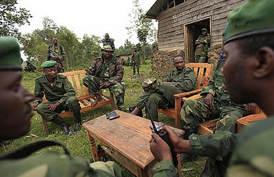 M23 leaders meet in eastern Congo 0213 by NewVision