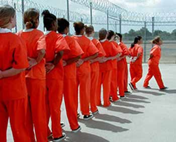 Women in Cali prison by Pasadena Weekly
