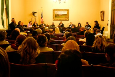 Assembly Public Safety Committee hearing on SHUs 022513 by Sheila Pinkel, web
