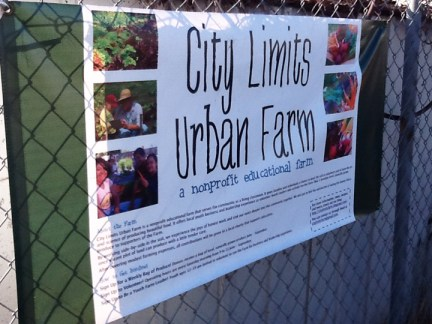 East Palo Alto City Limits Urban Farm
