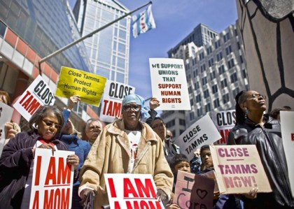 'I am a mom' anti-Tamms Supermax protest 0412 by William DeShazer