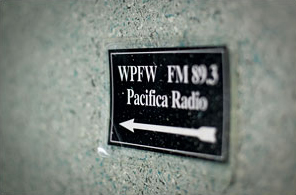 WPFW sign