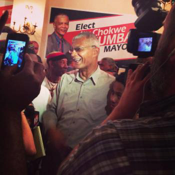 Chokwe Lumumba wins Democratic primary run-off 052113