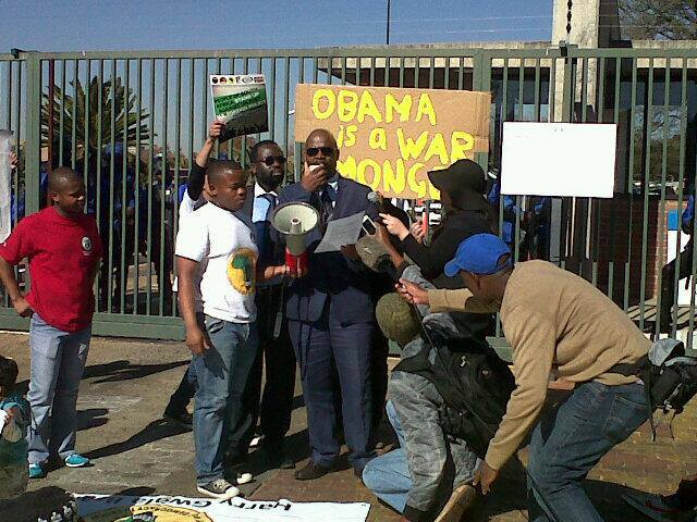 NObama Coalition Johannesburg South Africa press conf 062213