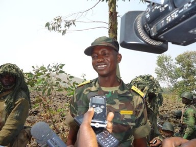 Col. Mamadou NGÇÖDala Moustafa by Reuters video