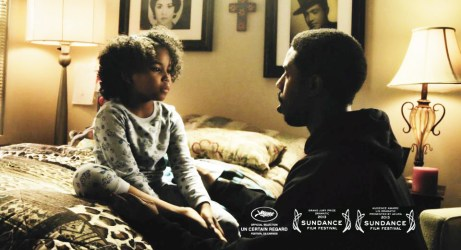 Michael B. Jordan as Oscar Grant, Ariana Neal as daughter Tatiana in 'Fruitvale'
